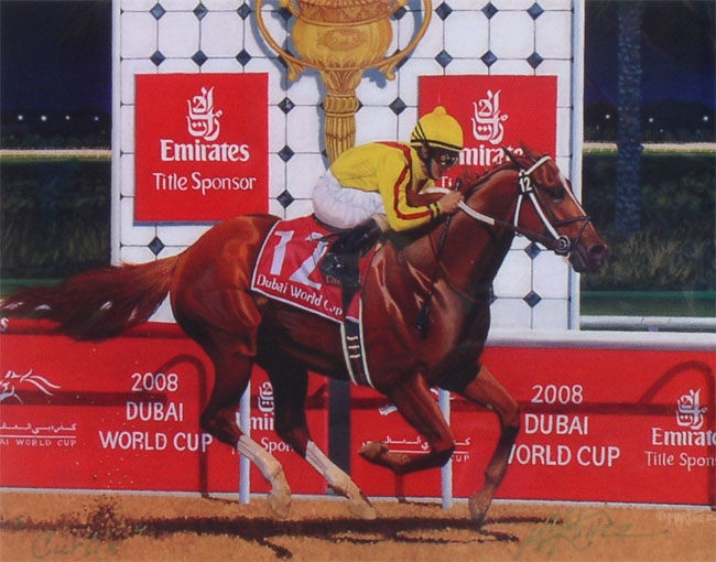 2008 - Curlin in Dubai