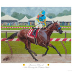 American Pharoah Winning The Preakness Stakes